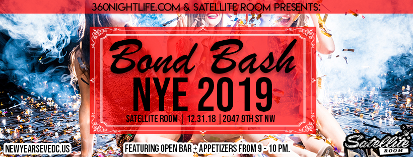 New Year's Eve Washington DC at Satellite Room 2018