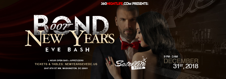New Year's Eve Washington DC at Satellite Room 2019