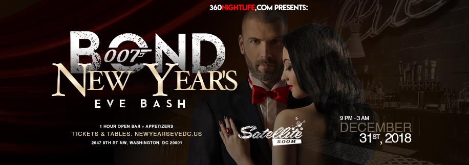 New Year's Eve Washington DC at Satellite Room 2019