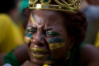 Crazy Pictures and Reactions to Brazil Getting Humiliated By Germany