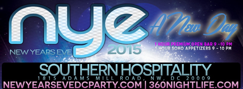 New Year's Eve DC at Southern Hospitality | A New Day NYE 2015