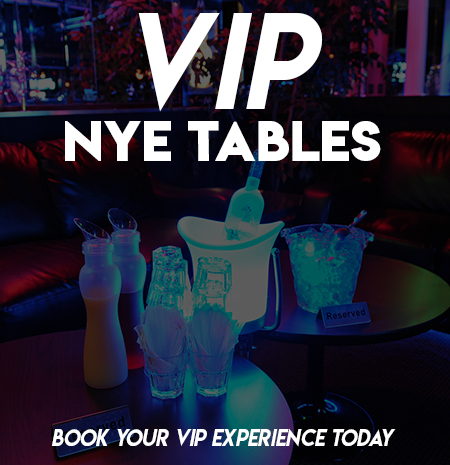 Washington DC New Year's Eve VIP Tables