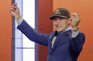 Johnny Football: What's The Rolled Up Twenty For?
