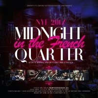 Midnight in the French Quarter NYE 2017 at Vieux Carre