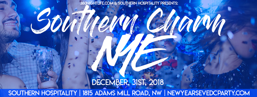 New Year's Eve Washington DC  2018 at Southern Hospitality